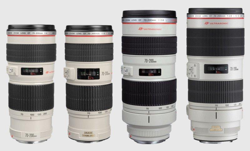 Canon giới thiệu hai ống kính 70-200mm mới vào tháng tới