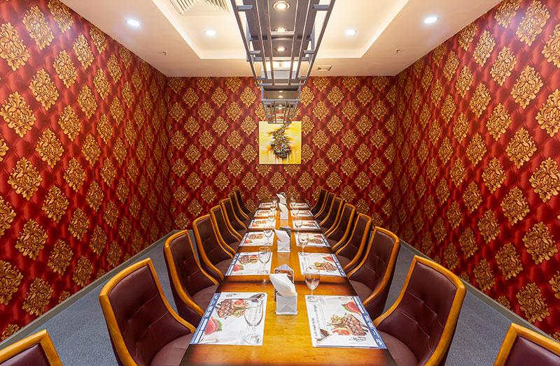 Không gian nhà hàng Buffet D'maris – Hà Nội