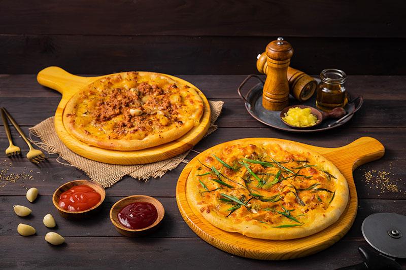 Lựa chọn background gỗ trong chụp ảnh món ăn